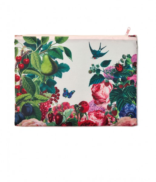 Easy Zipper M Rose Garden