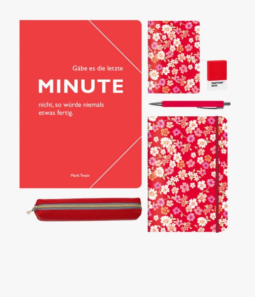 Schreibset Blüten rot | CEDON