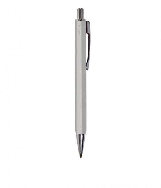 Kugelschreiber metallic silber | CEDON
