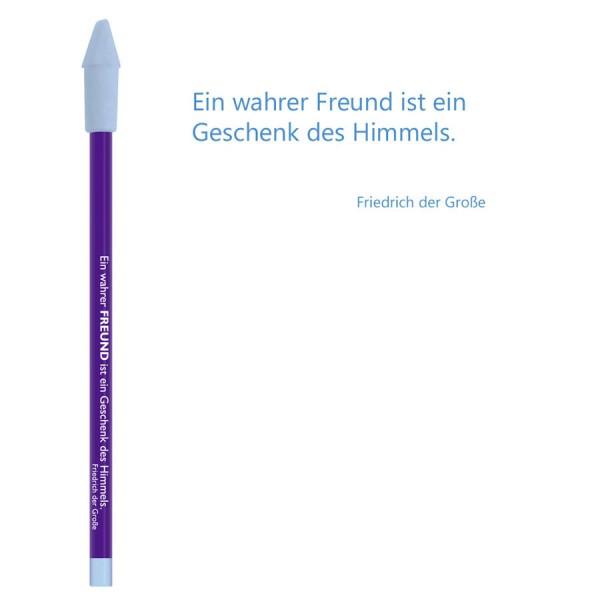 CEDON Bleistift blau - Friedrich der Große Freund