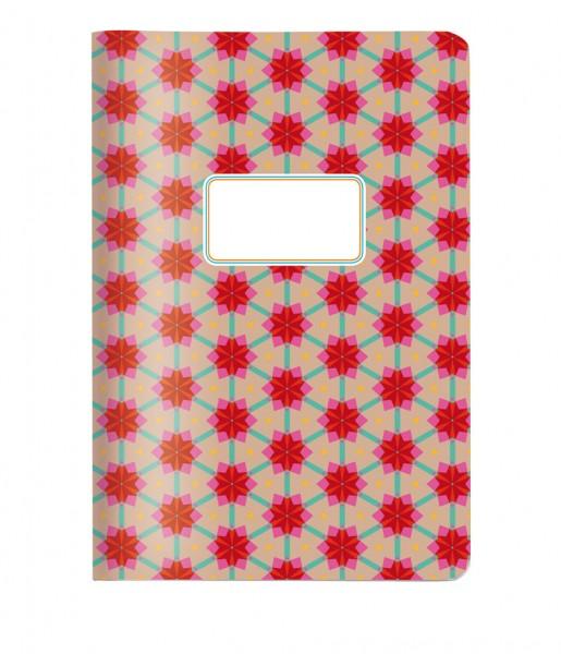 Heft A5 Kachel rot | CEDON