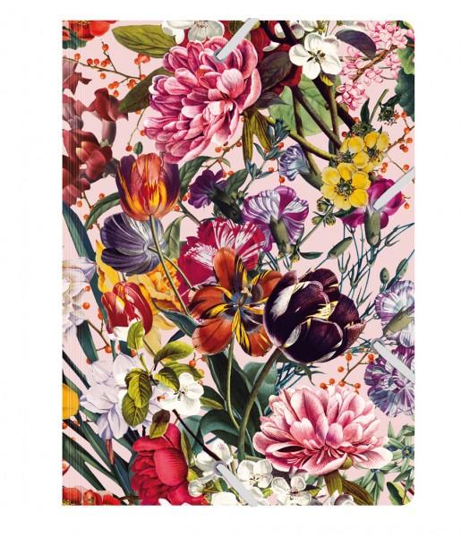 Sammelmappe de Luxe Blumengruß