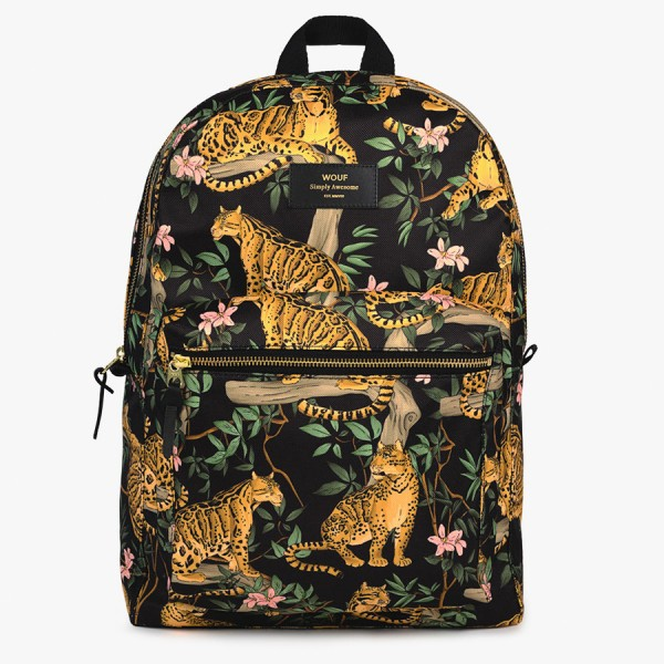 Backpack Black Lazy Jungle