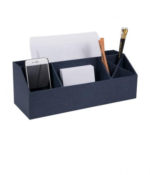 Schreibtischorganizer ELISA blau | Bigso