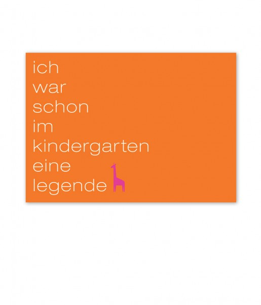CEDON Postkarte, Kindergarten
