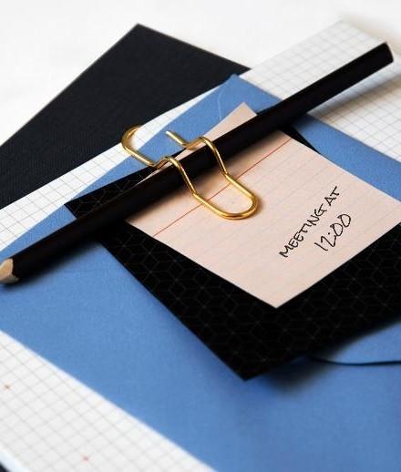 Clip-Pen gold | Peleg Design