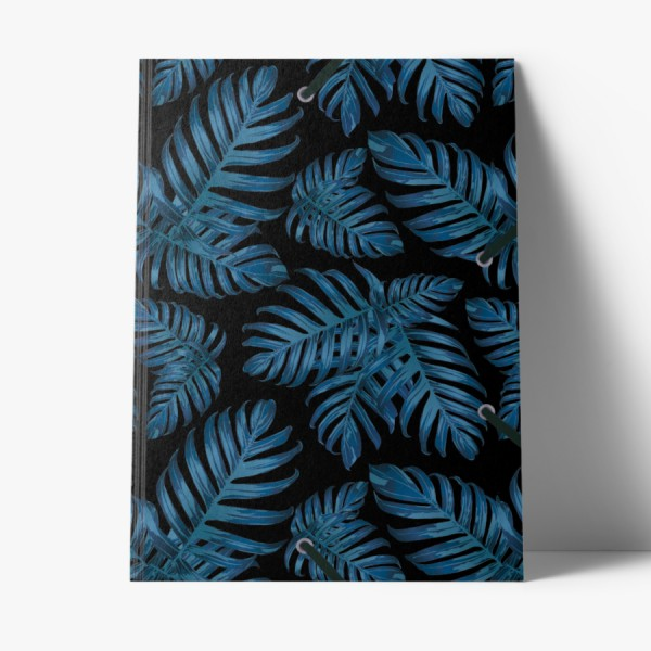 Sammelmappe de Luxe Philodendron blue