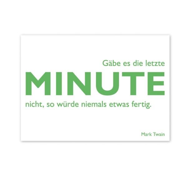 CEDON Postkarte Twain Minute