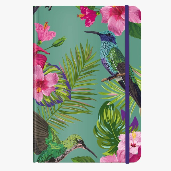 CEDON Notizbuch DIN A5 Flower Bird