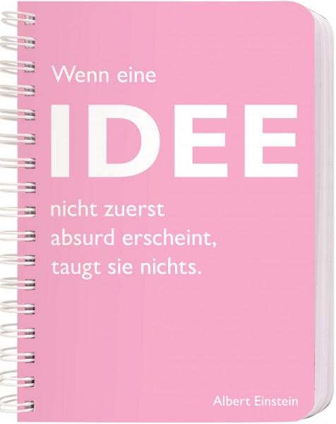 CEDON Ringbuch DIN A6, Einstein, Idee