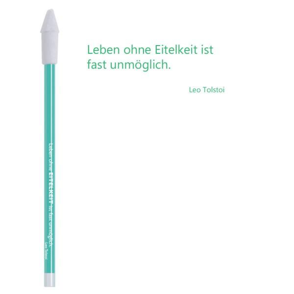 CEDON Bleistift gruen - Leo Tolstoi Eitelkeit