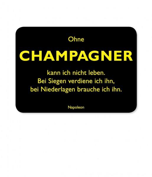 Postkarte Napoleon Champagner | CEDON