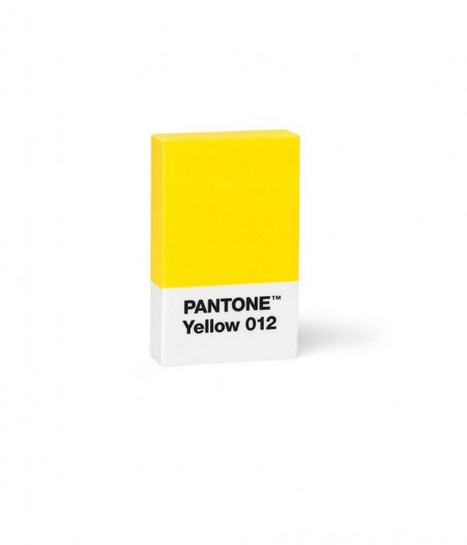 Radiergummi gelb | PANTONE
