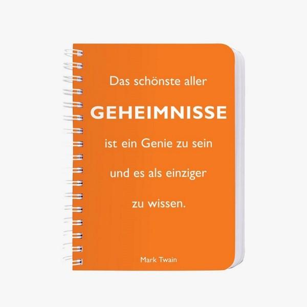 CEDON Ringbuch A6 Twain, Geheimnisse