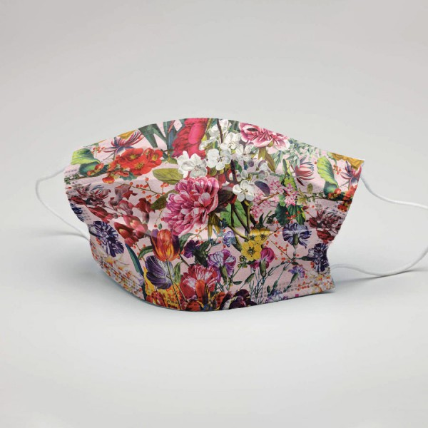 Fashion Mundschutz Blumengruß