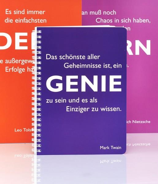 CEDON Ringbuch DIN A5, Twain, Genie