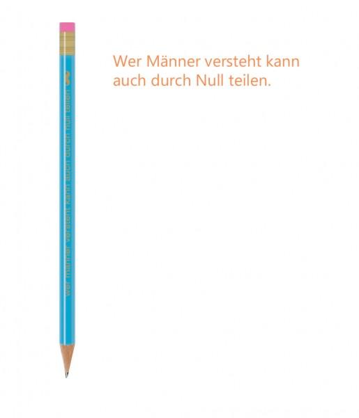 CEDON Bleistift Spruch Männer