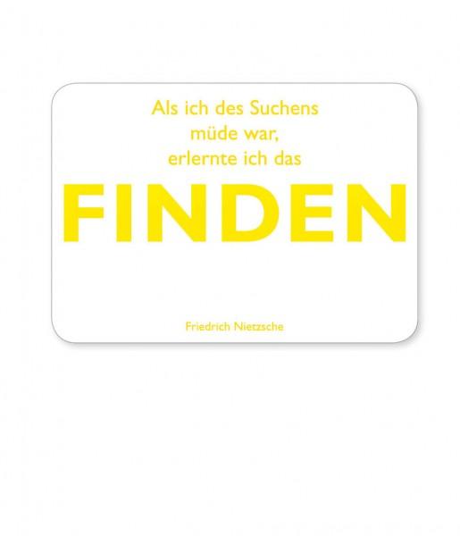 Postkarte Nietzsche Finden | CEDON