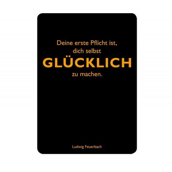 CEDON Postkarte Feuerbach Glücklich
