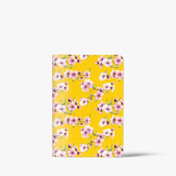 CEDON Heft A6 Blüten gelb