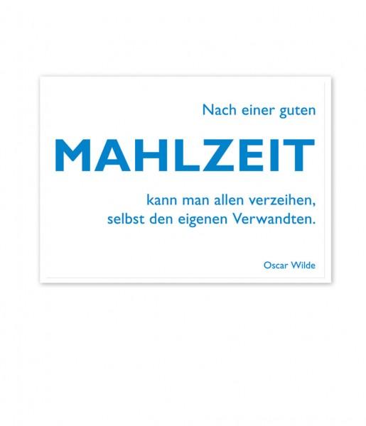 CEDON Postkarte Wilde, Mahlzeit