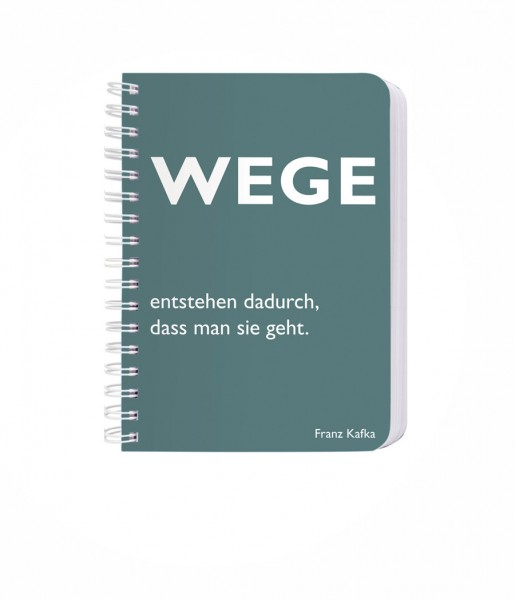 Ringbuch Wege DIN A6 | CEDON