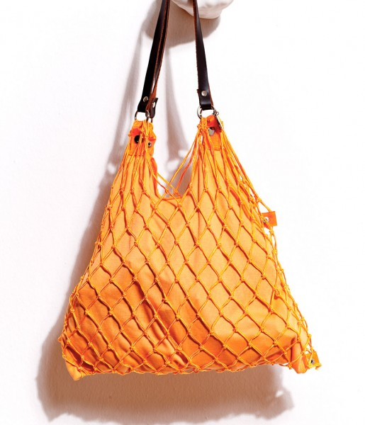 Kulturbeutel de Luxe orange | CEDON