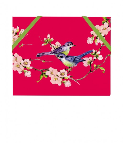 Mäppchen Vögel rot | CEDON