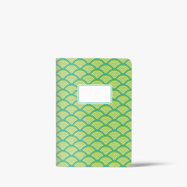 CEDON Heft A5 Welle grün