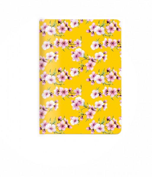 Heft A6 Blüten gelb | CEDON