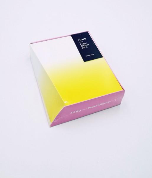 Notizblock Paper Object No. 4 | JUNO