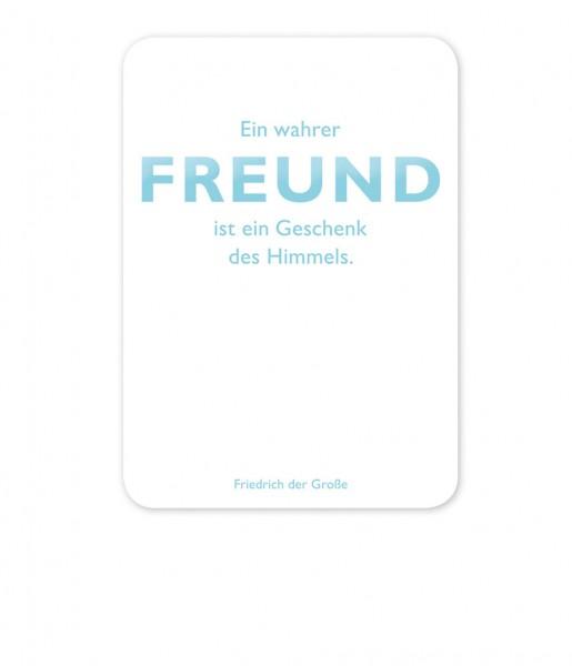 Postkarte Friedrich der Große Freund | CEDON