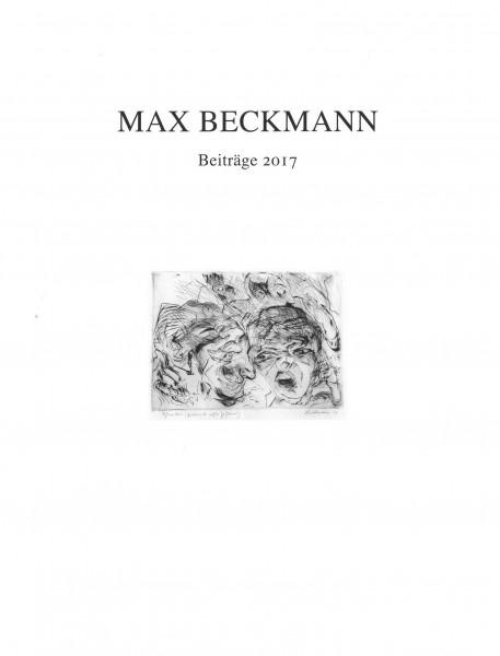 Max Beckmann Beiträge 2017
