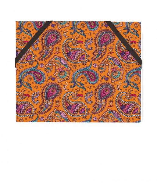 Mäppchen Paisley orange | CEDON