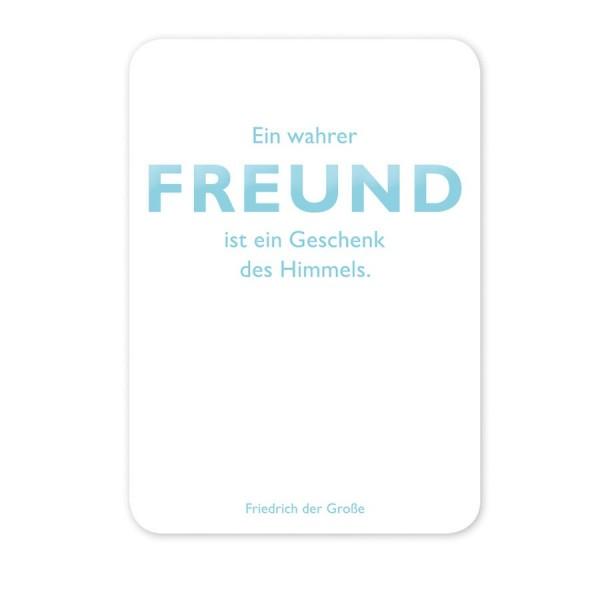 CEDON Postkarte Friedrich der Große Freund