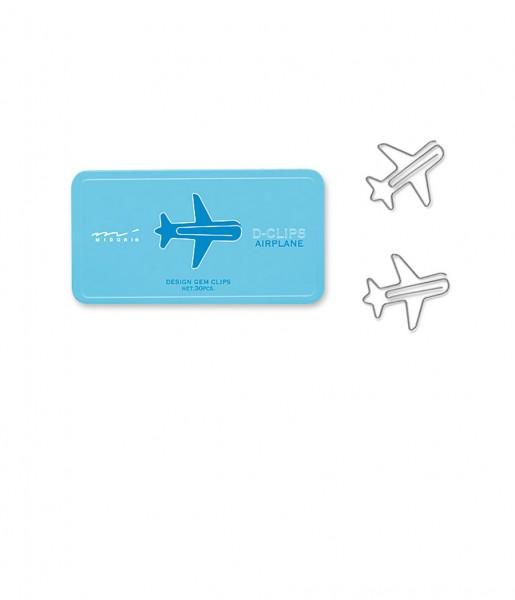D-Clips Flugzeug  Midori