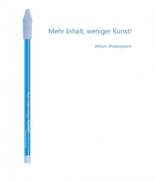 Bleistift blau Kunst | CEDON