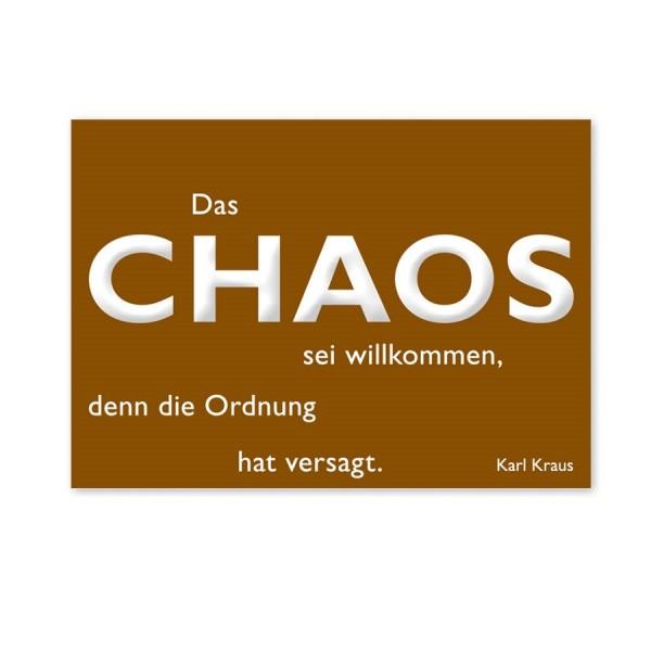 CEDON Postkarte Kraus, Chaos