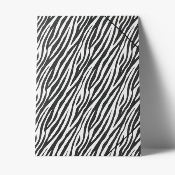 Sammelmappe Zebra