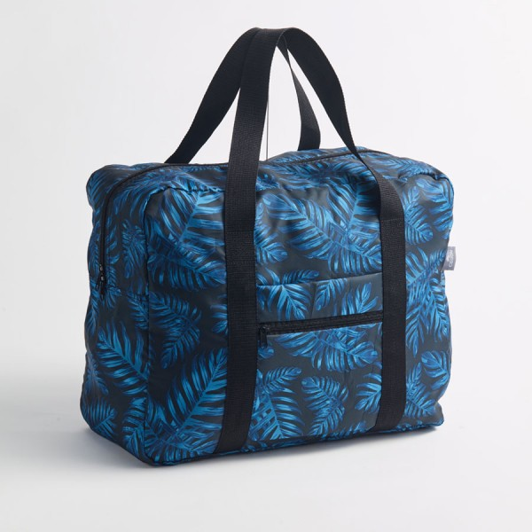 CEDON Travel Bag Philodendron Blue