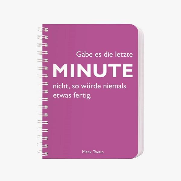 CEDON Ringbuch A6 Twain, Minute