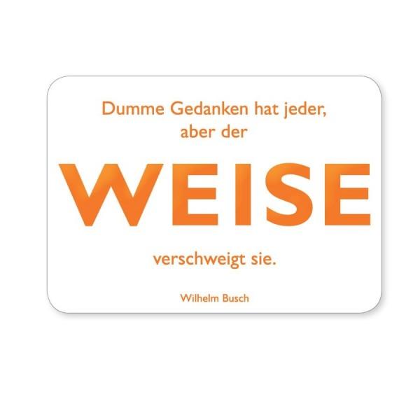 CEDON Postkarte Busch Weise