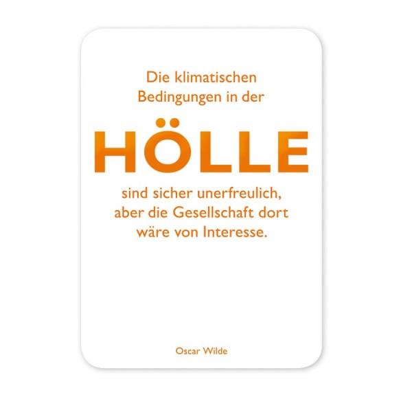 CEDON Postkarte Wilde Hölle