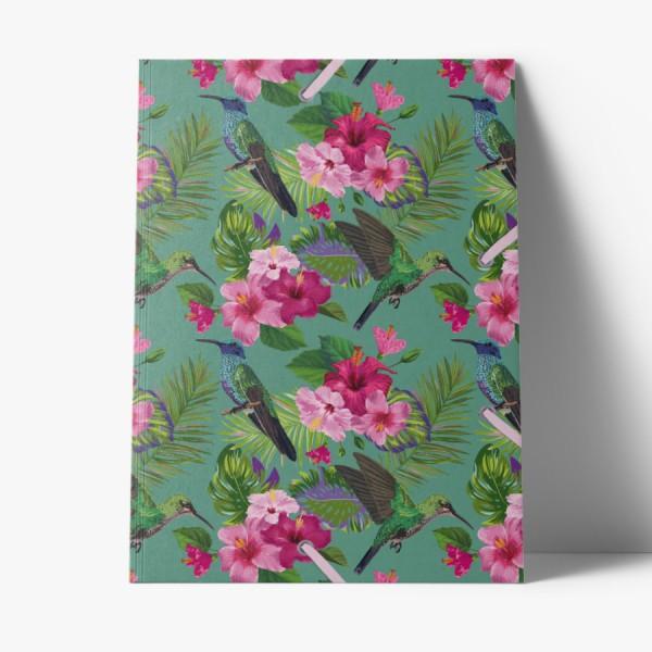 Sammelmappe de Luxe Flowerbird