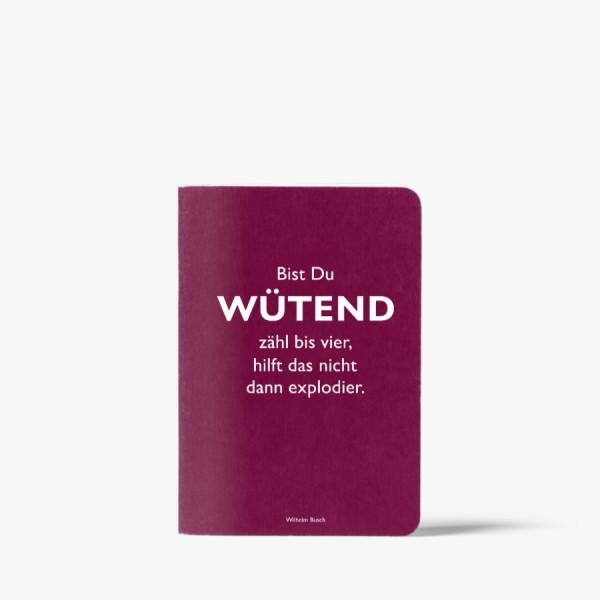 CEDON Heft A6 Busch Wütend