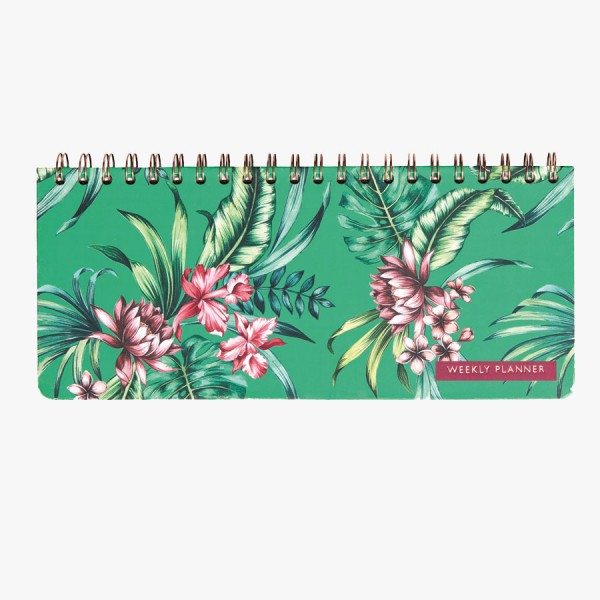 CEDON Weekly Planner Tropical Green