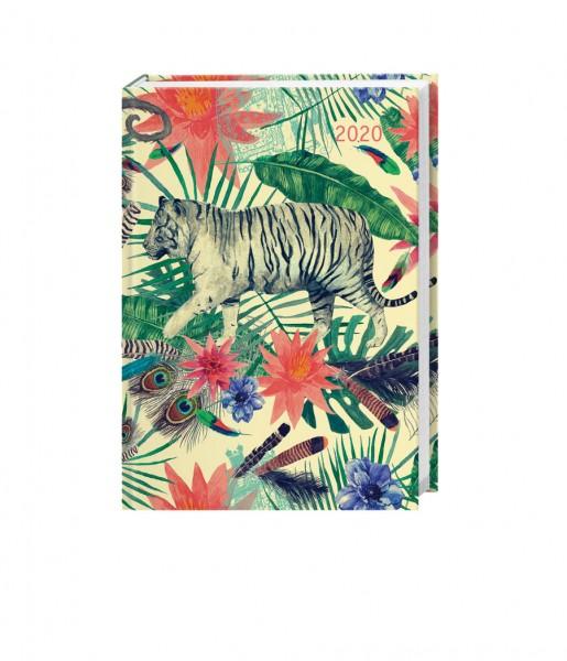 Kalenderbuch White Tiger DIN A6   Arthesia