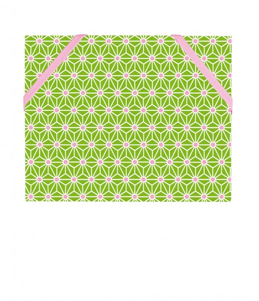 CEDON Mäppchen Asanoha grün