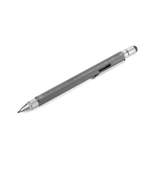 Kugelschreiber Construction titan/silber | TROIKA