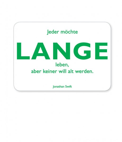 Postkarte Swift Lange